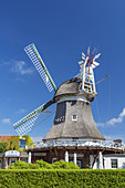 Windmill on the East Frisian Island Norderney, North Sea, Lower Saxony, Northern Germany, Germany, Europe