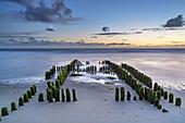 Beach and North Sea in Rantum, North Frisian Island Sylt, North Sea coast, Schleswig-Holstein, Northern Germany, Germany, Europe
