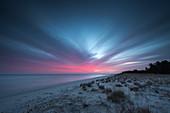 Dawn, Sand Dune, Beach, Prerow, Fischland-Darß-Zingst, Mecklenburg-Vorpommern, Germany, Europe
