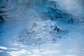Bubble detail at Krafla, Hverir geothermal area, Nordurland eystra, Norther iceland, iceland