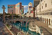 The Strip with The Venetian Las Vegas, Nevada, USA