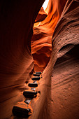 Lower Antelope Canyon, Page, Navajo Nation, Arizona, USA