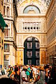Galleria Umberto I, Naples, Campania, Italy