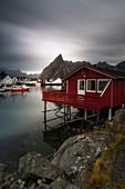 Hamnoy, Moskenesoy municipality, Isole Lofoten, Lofoten islands, Norge, Norway, North Europe, Europe,