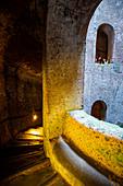 Europe, Italy, Umbria, Terni district, Orvieto. Shaft Saint Patrizio