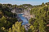 Marseille, Cassis, Provence, France, Europe. Landscapes of the Calanques,Calanque de Port-Miou