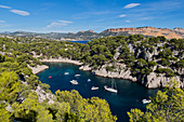 Marseille, Cassis, Provence, France, Europe. Landscapes of the Calanques,Calanque de Port-Pin