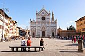 Basilica di Santa Croce (Basilica of the Holy Cross), Florence, Tuscany, Italy