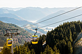 Gondola on Belchen, Neuenweg, Black Forest, Baden-Wurttemberg, Germany