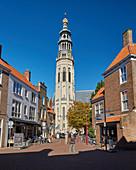 The Lange Jan in Middelburg, Walcheren peninsula, Zeeland province, North Sea, Netherlands, Holland