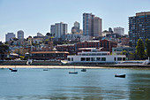 Maritime Museum und Ghiradelli Square, San Francisco, Kalifornien, USA