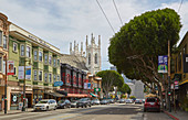 Columbus Ave in San Francisco, Kalifornien, USA