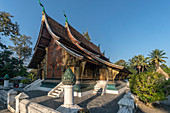 Wat Xieng Thong, Buddhist Temple of Luang Prabang, UNESCO World Heritage Site, Laos