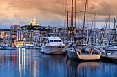 Marina of Marseille, Cote d Azur, France