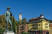 David Statue, Promenade du Paillon, Splendid facades on Boulevard Jean Jaures, Tower Saint-Francois, Nice