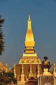 Pha That Luang Temple in Vientiane, Laos