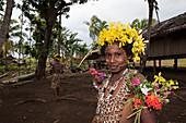 Mädchen von Kofure, Tufi, Oro Provinz, Papua Neuguinea