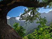 Im Gebirge von Santo Antao, Kap Verde