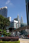 Downtown Kuala Lumpur, Petronas Towers, Kuala Lumpur, Malysia
