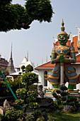 Wat Arun at Chao Phraya, Bangkok, Thailand