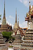 Wat Pho at Chao Phraya, Bangkok, Thailand