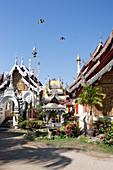 Wat Bopparam Buddhist temple in Chiang Mai, Chiang Mai, Thailand
