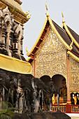 Wat Chiang Man Buddhist Temple in Chiang Mai, Chiang Mai, Thailand
