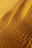 Close-up of fine sand in the Erg Chebbi desert, Erg Chebbi, Merzouga, Errachidia, Morocco