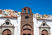 The church Iglesia de la Asunción in the old town of the capital, San Sebastián de La Gomera, La Gomera, Canary Islands, Spain
