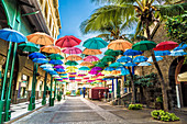 Le Caudan Waterfront Shopping Mile in Port Louis Mauritius