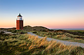 Old Lighthouse, at Kampen, Sylt, North Sea, Schleswig-Holstein, Germany
