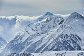 Austria, ski tours, Tyrol, wintry mountains