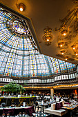 Dome, Art Nouveau, department store Printemps, Paris, Île-de-France, France