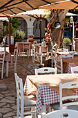 Typical greek restaurant in Zante, Zakynthos town, Zakynthos, Ionian Islands, Greece