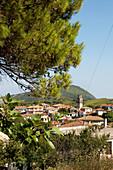 Dorf in den Bergen, Zakynthos, Ionische Inseln, Griechenland