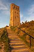 The Victoria Tower (Jubilee Tower) at Castle Hill near Almondbury, Huddersfield, West Yorkshire, Yorkshire, England, United Kingdom, Europe