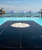Jazeerat Nurai, Zaya Nurai luxury island resort in Abu Dhabi, United Arab Emirates, Middle East