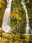 Waterfall in the Wasserlochklamm at Palfau, Styria, Austria