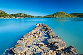 Stone pier on Dugi Otok, Croatia