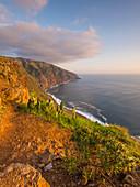Cliff at Ponta Do Pargo, Madeira, Portugal