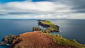 Ponta de Sao Lourenco peninsula with lighthouse, Madeira, Portugal