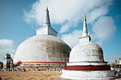 Ruwanwelisaya Dagoba (Goldener-Sand-Dagoba), Anuradhapura, UNESCO-Welterbestätte, Nordmittelprovinz, Sri Lanka, Asien
