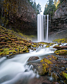 Long exposure of†Tamanawas†Falls in†Mount Hood National Forest, Oregon, USA