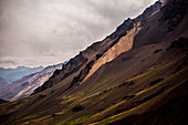 Majestic scenery of Andes mountains, Mendoza, Argentina