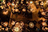 People in Bar room at Beekman Hotel, New York, USA