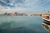 Dhow Harbor, Corniche, Doha, Qatar