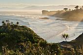 Morgenstimmung am Cape Foulwind, West Coast, Südinsel, Neuseeland, Ozeanien