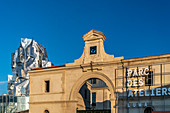 LUMA Arles, Cultural Center by architect Frank Gehry, Arles, Provence, France