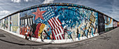 East Side Gallery, Wall art, Berlin, Germany, Europe