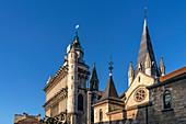 Notre Dame Cathedral, Dijon, Burgundy, France
